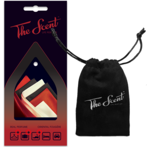 The Scent™ – Life Perfume | Oriental Fougère package and bag