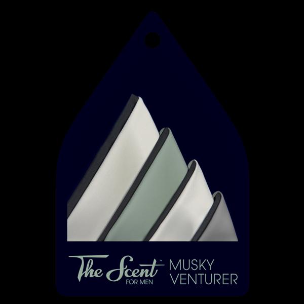 The Scent™ – Life Perfume   Musky Venturer card
