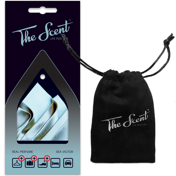 The Scent™ – Life Perfume | Sea Victor package and bag