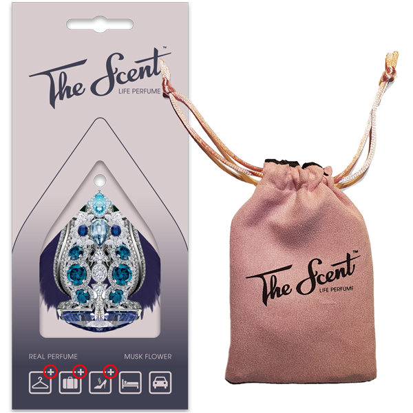 The Scent™ – Life Perfume | Musk Flower package and bag